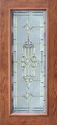 Westminster Style Entry Door Glass