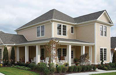 Vinyl siding champion siding windows - Champion windows sunrooms home exteriors ...