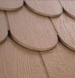 Decorative Scallop Shaped Siding