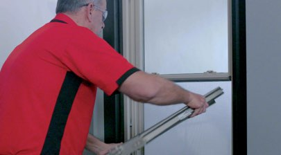 How to Remove and Replace the Sash on Your Double-Hung Windows - Step 3: Raise Out of the Balancer