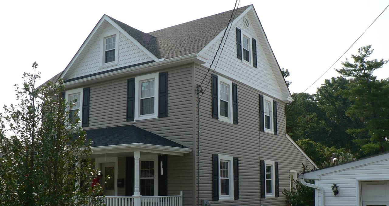 Exterior photo of home after Champion siding was installed