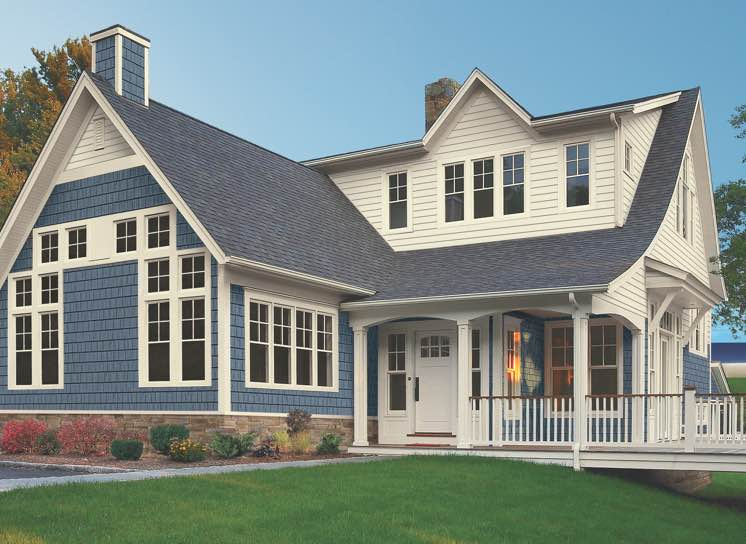 Home with Champion Composite 365 siding
