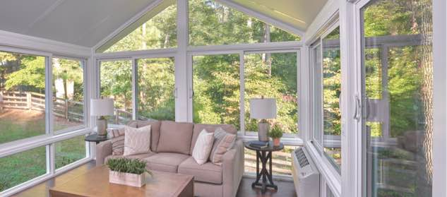 Champion sunroom windows