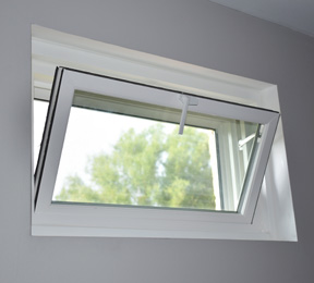 Basement hopper Window Example