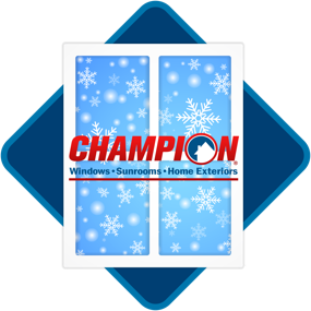 Champion winter window installations logo