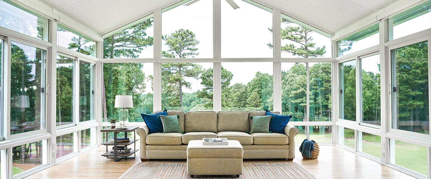 Champion sunroom interior
