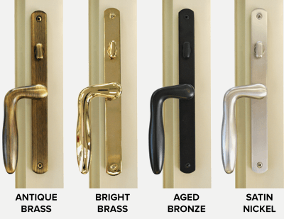 Patio Door Handle Options