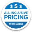 All Inclusive Pricing