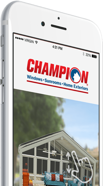 Champion Sunroom builder app image
